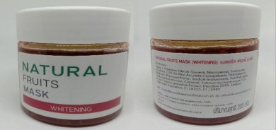 Natural Fruits Mask : Whitening
