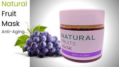 Natural Fruits Mask : Anti Aging เนเชอรัล ฟรุตส์ มาส์ค : แอนตี้ เอจจิ้ง