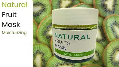 Natural Fruits Mask : Moisturizing  เนเชอรัล ฟรุตส์ มาส์ค : มอยส์เจอไรซิ่ง
