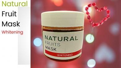 Natural Fruits Mask : Whitening เนเชอรัล ฟรุตส์ มาส์ค : ไวท์เทนนิ่ง